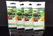 "4 packs ~ 4"" Rapiclip Plant Labels with Pencil by Luster Leaf ~ 25 per pack"
