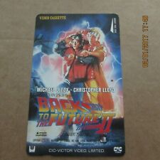 BACK TO THE FUTURE 2 FOX LLOYD ON USED MOVIE PHONECARD FROM JAPAN