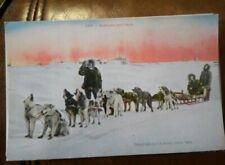 Alaska Dog Sled photo Eskimo Photograph 1906 Frank F.H. Nowell Nome AK
