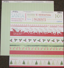 Holly Jolly Christmas Potpourri 12x12 Dbl-Sided (25 Pack) Scrapbooking Paper