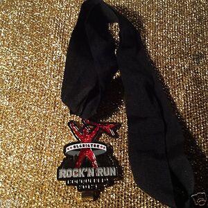 Gladiator Rock'N Run Mud Run Conquered 2012 Running Race Medal