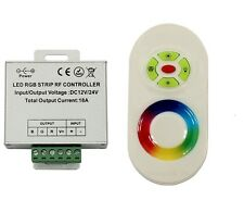Red Blue Green LED RF Remote Controller Control Works w/ Our LED Rings