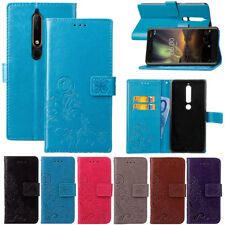 For Nokia 7 Plus/ 3.1/5.1/6.1/7.1 Shockproof Leather Wallet Book Flip Case Cover