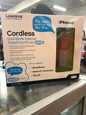 Linksys Cordless Dual Mode Internet Telephony Kit With Skype Model CIT400