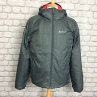 MONTANE MENS UK M SHADOW GREY PRISM HOODED JACKET COAT WINTER AUTUMN RRP £125 CS