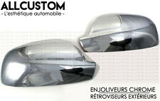 CHROME MIRROR COVER DOOR CAP TRIM SIDE PEUGEOT for 407 SW COUPE 2004-2011 HDI V6