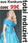 Vestido de Novia Baile Azul 36 38 40 Disfraz Carnaval Princesa Nuevo