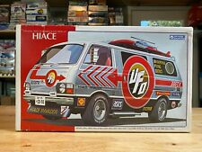 Gunze Sangyo 1/24 Toyota HIACE Van Model Kit UFO INVADER R/C Helicopter