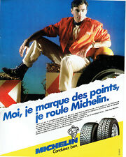 Publicité advertising 078 1985 tires michelin mxl mxv