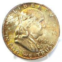 1951-S Franklin Half Dollar 50C - PCGS MS66+ FBL CAC Plus Grade - $1500 Value