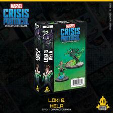 Marvel Crisis Protocol Miniatures Game - Loki & Hela