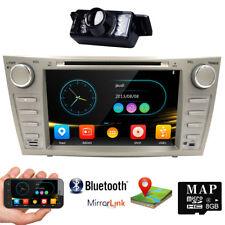 HIZPO For Toyota Camry 2007-2011 Car DVD Player GPS Navi BT Radio Stereo+CAMERA