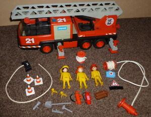Vintage Playmobil 3781 - Fire Engine