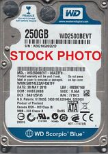 "Western Digital WD2500BEVT 250GB 5400 RPM 8MB Cache SATA 3.0Gb/s 2.5"" Hard Drive"