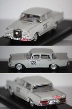 Spark Mercedes Benz 220 SE winner Monte Carlo 1960 W. Schock 1/43 S1004