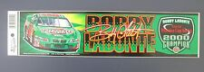 "BOBBY LABONTE 2000 WINSTON CUP CHAMPION BUMPER STICKER 3""x 12"" NEW BY WINCRAFT"