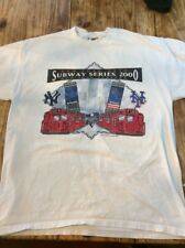 World Series 2000 Subway Series Yankees vs Mets T-shirt Size L
