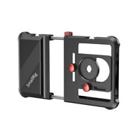 SmallRig Universal Smartphone Cage Video Tripod Phone Mount for iPhone SAMSUNG