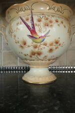 Crown Ducal Blush Ware 1920s Large Pedestal Bowl Hand painted 32cm x 23cm A1166