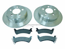 JEEP GRAND CHEROKEE 2.5 4.0 5.2 5.8 1995-1999 REAR 2 BRAKE DISCS AND PADS NEW