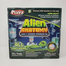 Playz Alien Anatomy Guts & Gizzards Operation Kit STEM Experiments Science