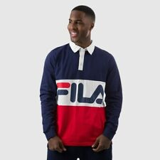 NWT FILA HARLEY RUGBY ls polo shirt size XL 40% off msrp LM175V41-412