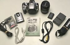 Canon EOS Digital Rebel XT 350D Digital SLR Camera-IN BOX!/ACCESSORIES