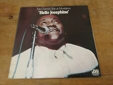 Fats Domino - Hello Josephine/ Live At Montreux - Orig UK LP (1974)  A1/B1