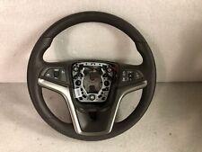 2013-2015 Chevrolet Malibu Cocoa Vinyl Steering Wheel W Controls New OEM 2095747