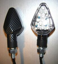 2x LED carbono bicicleta de señal de vuelta Mv Agusta f4-1000 Brutale 750 Universal