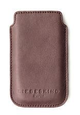 Liebeskind Berlin, Handytasche, Case, Hülle,Echt Leder, B7 x H12 cm, Braun(wine)