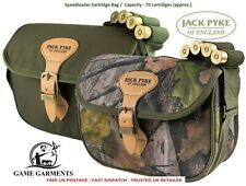 Jack Pyke Speedloader Cartridge Bag, Green or Evolution Camouflage Shooting Camo