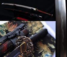 Razor Sharp High Quality Japan Samurai Sword Katana Clay Tempered Folded Steel
