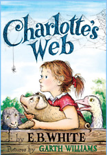 Charlotte's Web by E.B. White NEW Paperback Newbery Honor