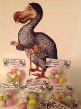 6  Pkts of Alice In Wonderland DODO's FRESHLY LAID CHOCOLATE EGGS - Easter-Tpart