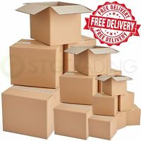 QUALITY SINGLE WALL POSTAL MAILING CARDBOARD BOXES