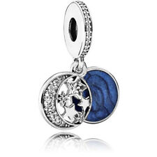 Pandora Vintage Night Sky Charm, Shimmering Midnight Blue Enamel 791993cz