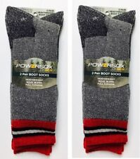 PowerSox by Gold Toe, Merino Wool Blend Boot Sock, Large, 4 pair only $24.99!