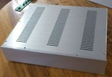 4809 Full aluminum chassis Amplifier Case Preamp enclosure DAC box silver