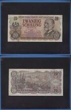 AUSTRIA 20 SCHILLING PICK 136 ANNO 1956 093
