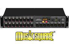 BEHRINGER S16 DIGITAL SNAKE I/O BOX WITH 16 REMOTE-CONTROL MIC PRE's 1 OWNER!