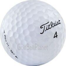 60 AAA+ Titleist Pro V1 Used Golf Balls + Dual Brush