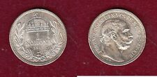 Hongrie - 1 korona 1915 argent TBE