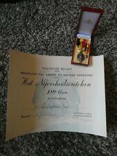 Belgische medaille - Nijverheidsereteken 1e klasse
