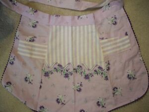 VIntage handmade 60s apron
