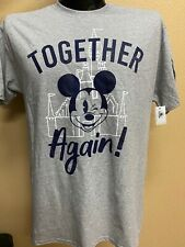 New 2020 Together Again! Disney Parks Reopening Mickey Mouse T Shirt (L) Unisex