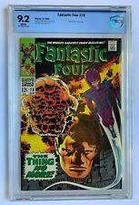FANTASTIC FOUR #78, Marvel Comics, CBCS 9.2 not CGC