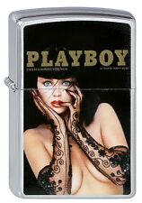 ZIPPO Feuerzeug PLAYBOY COVER DEZEMBER 1988 Playmate OVP NEU Sammlerstück!!