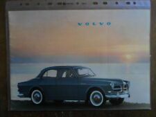 VOLVO 122S SALOON orig 1959 1960 UK Mkt Prestige Sales Brochure - Amazon