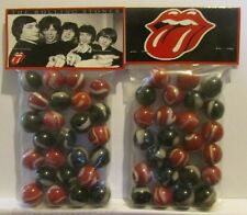 2 Bags Of The Rolling Stones Rock & Roll Promo Marbles